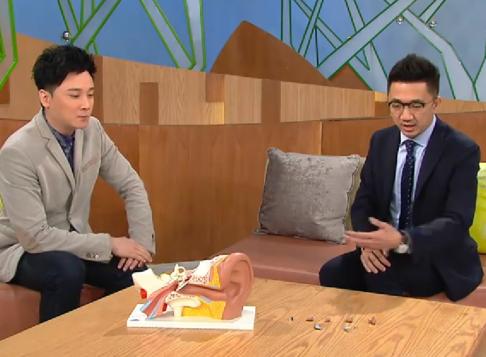 耳鼻喉專科醫生陳鍵明醫生電視訪問3